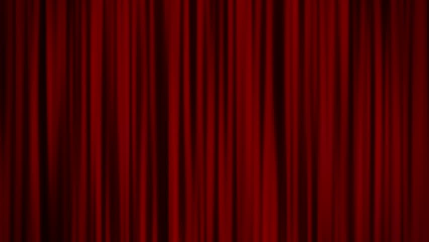 Red Curtains | Shutterstock HD Video #5569085