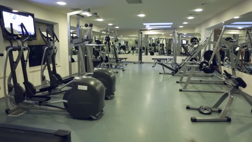 Gym Equipment Stock Footage Video | Shutterstock