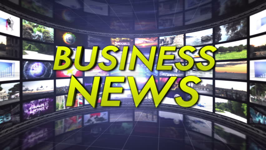 Business News Text in Monitors Room, Loop | Shutterstock HD Video #5677604