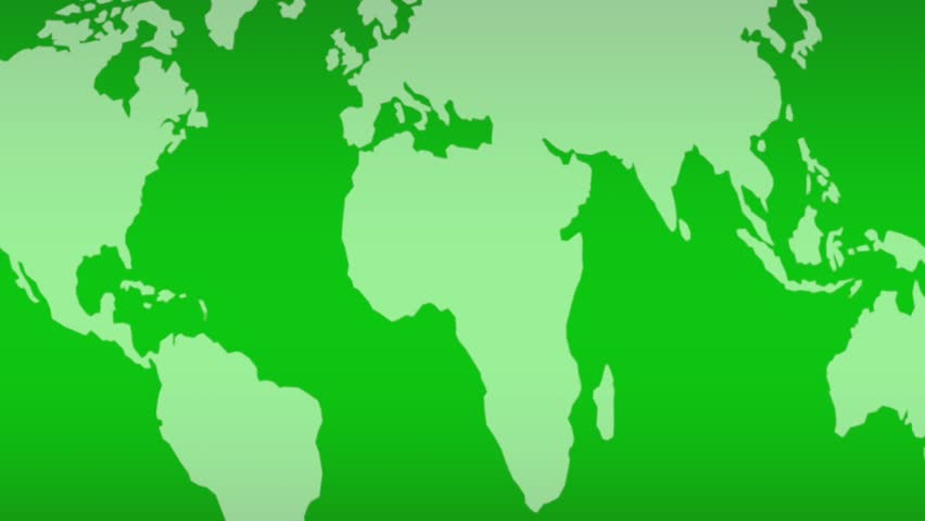 Earth map light green silhouette diagonal loop 02 global earth map light green silhouette diagonal loop 02 global continental flow for background mask texture transition related to business politics sciox Image collections