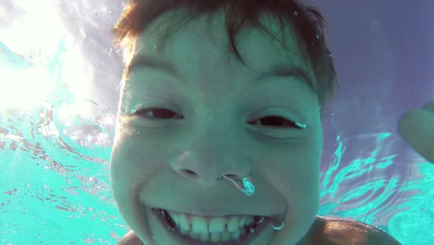 Boy Pours Water, Naked Boy Pours Water, Boy Takes A Shower -3724