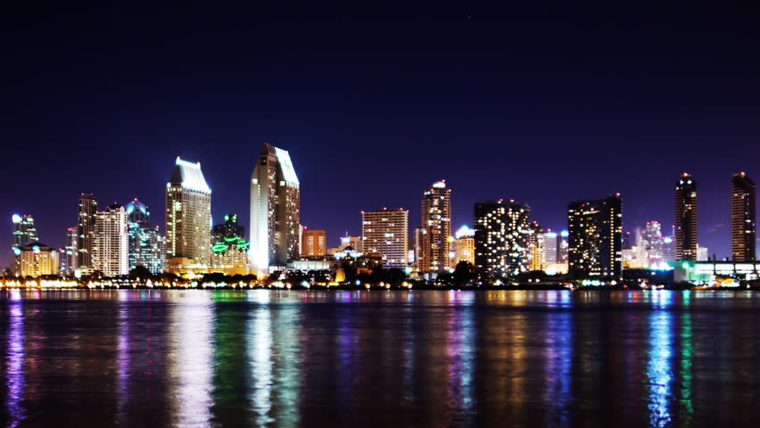 time lapse of san diego stock footage video 100 royalty. Black Bedroom Furniture Sets. Home Design Ideas