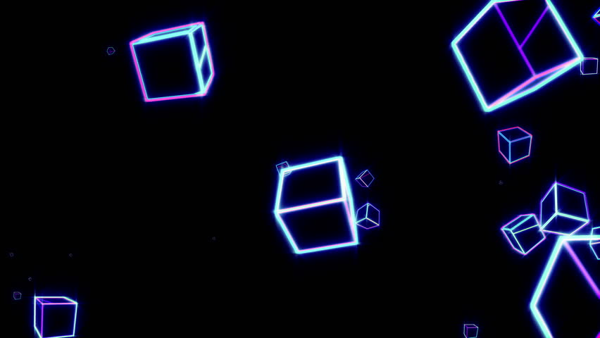 shiny cubes seamless background