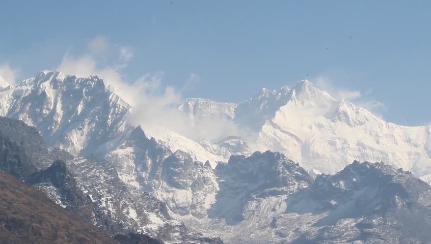 Kanchenjunga  Mountain in Himalaya range