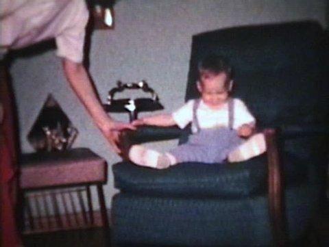 Little Boy Cannot Sit Still (1963 - Vintage 8mm film)