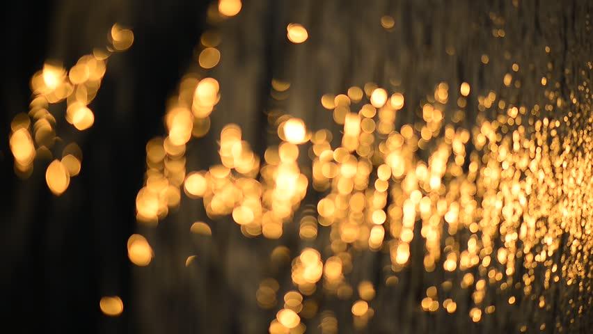 Light shining on the lake #6035264