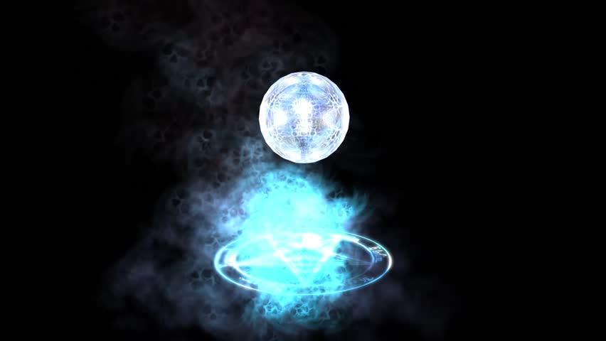 Star of David & dazzling energy balls.z1+x2+c3=star of David & dazzling energy balls. cg_00612   Shutterstock HD Video #6064034
