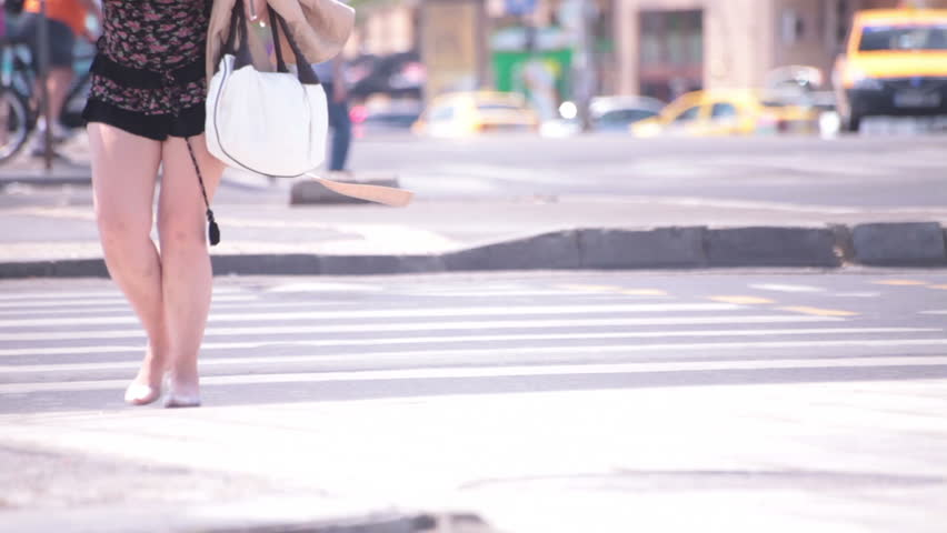 Walking down the street naked — pic 3