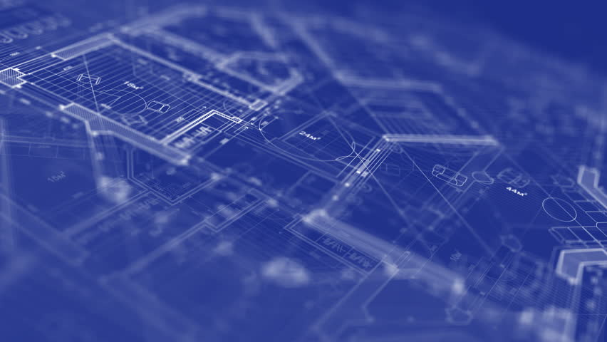 Abstract architecture background blueprint house plan stock abstract architecture background house plan hd stock footage clip malvernweather Images