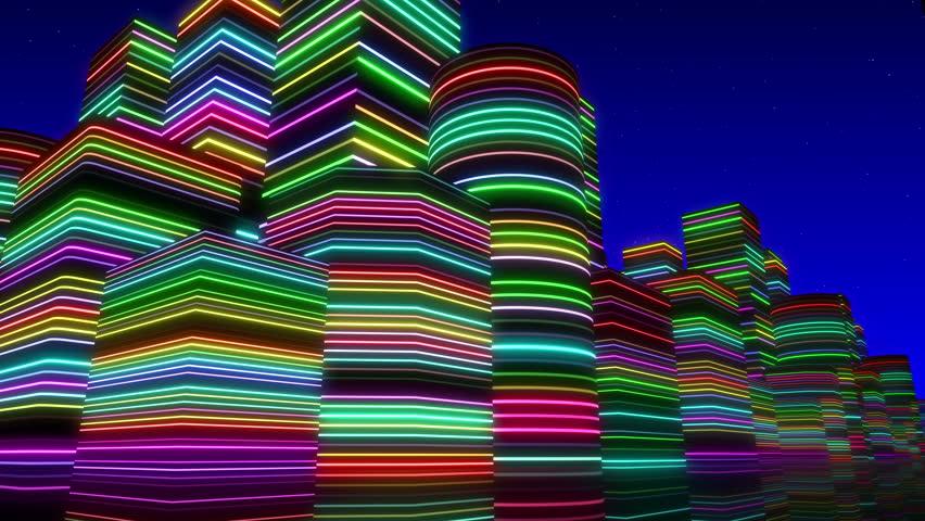 City Neon Lights. #6152984