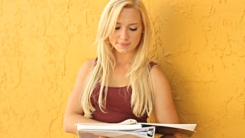college student Blonde