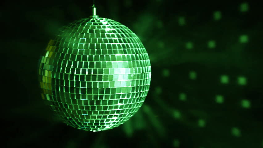 Disco ball over dark background | Shutterstock HD Video #6220214