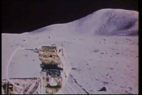 CIRCA 1970s - Highlights of Apollo missions 14 and 15 in 1971.