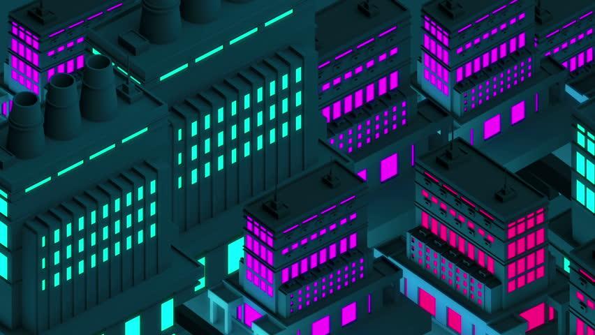 Night City | Shutterstock HD Video #6345554