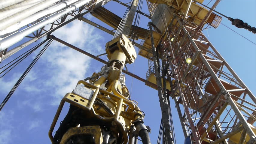 Shale gas drilling (time lapse) stock footage   Shutterstock HD Video #6408440