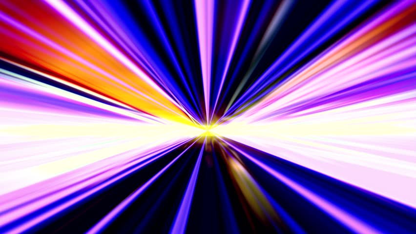 Night Tunnel 1/Into a colorful tunnel of light  | Shutterstock HD Video #6440516