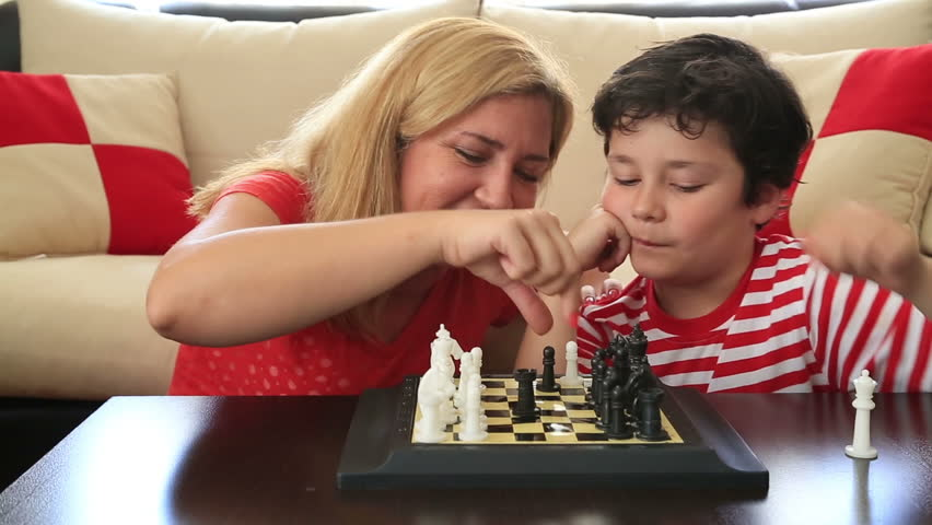 Young mother son tamil chess stories
