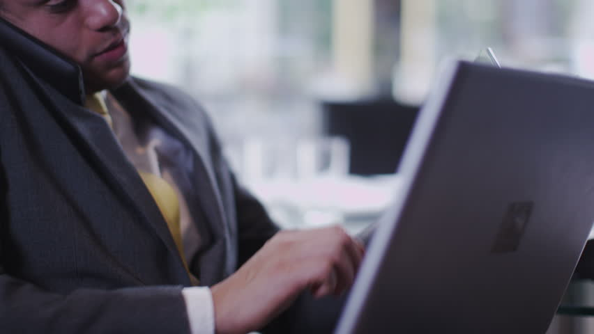 Office workers use tablets and phones | Shutterstock HD Video #6495659