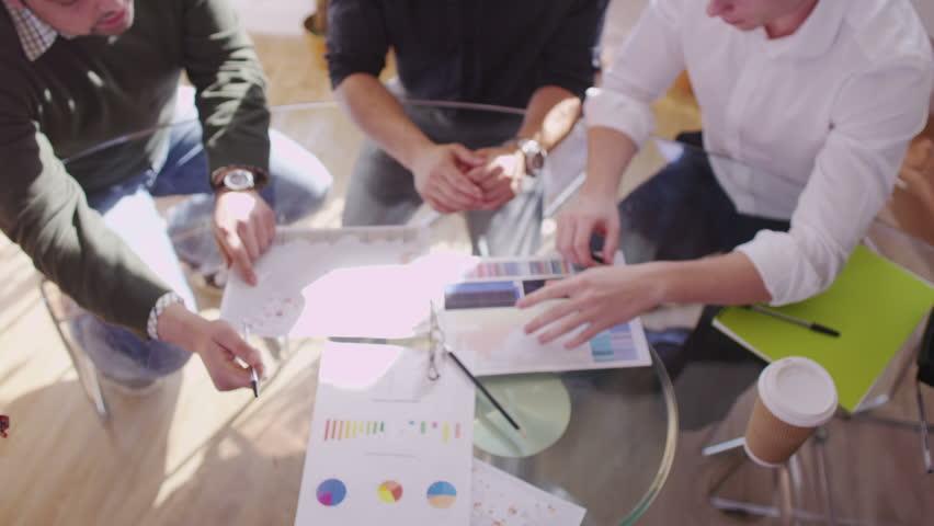 Coworkers having a meeting | Shutterstock HD Video #6559052