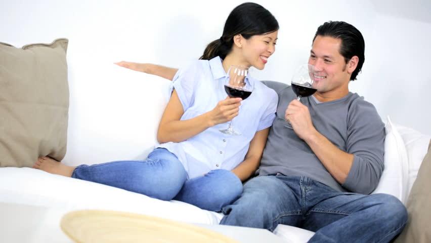 Surprising Young Heterosexual Asian Chinese Couple Stock Footage Video 100 Royalty Free 6666044 Shutterstock Inzonedesignstudio Interior Chair Design Inzonedesignstudiocom