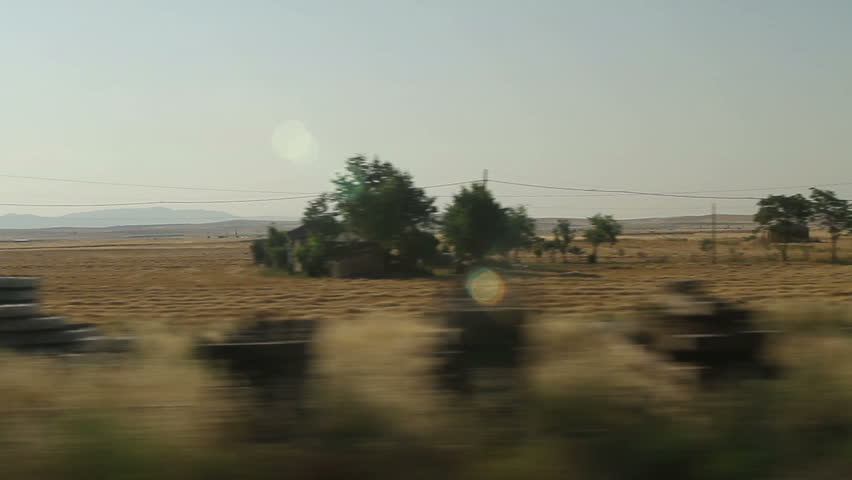 Window View From Car, Bus, Train Traveling Full Hd Videos -5497