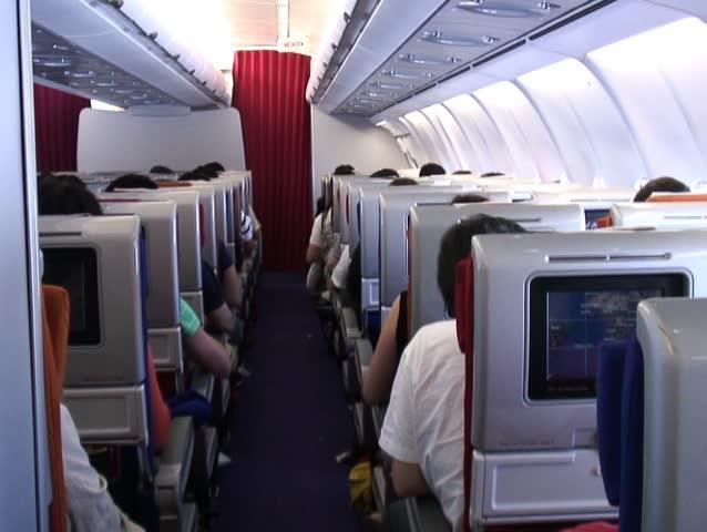 Inside plane   Shutterstock HD Video #6884