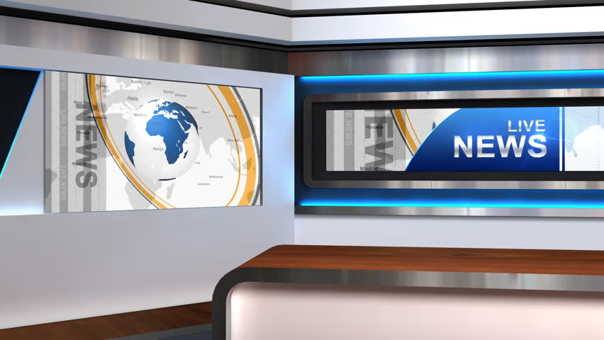 The Background Of TV Studio Size1920x1080 Duration15s Looped VideoYes Scope Application Live News Sports Weather Economic