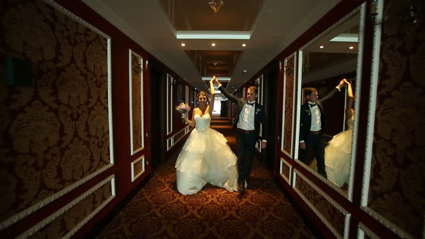 Newlyweds in a Hotel