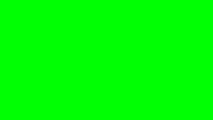 Dragon worm appears and disappears on green screen | Shutterstock HD Video #7007584