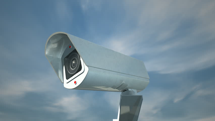 A closeup of a white wireless surveillance camera with a blinking a closeup of a white wireless surveillance camera with a blinking red illuminated light rotating in aloadofball Image collections