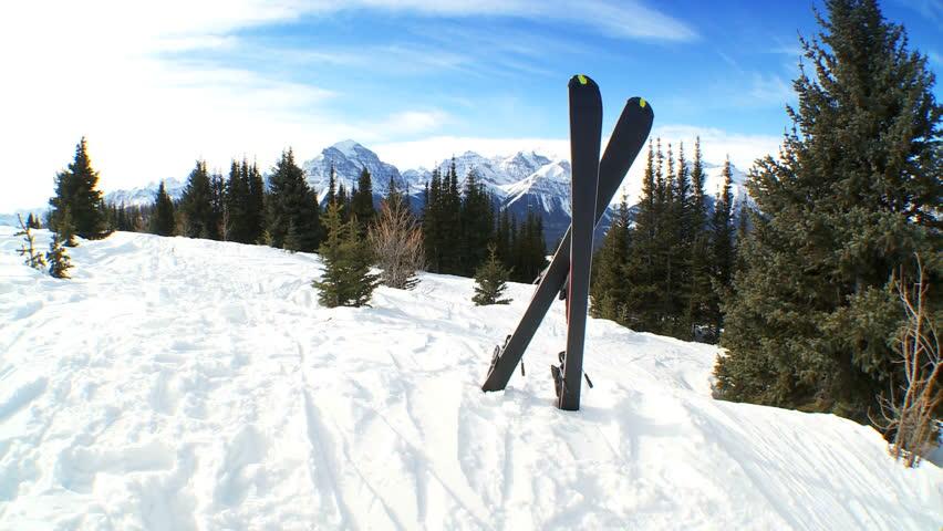 Bildergebnis für skis in the snow