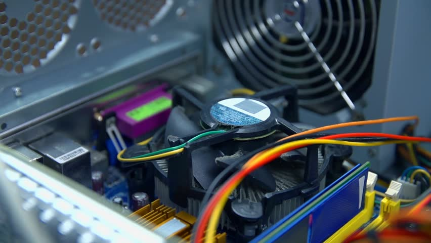 Ventilation start in personal computer | Shutterstock HD Video #7283215