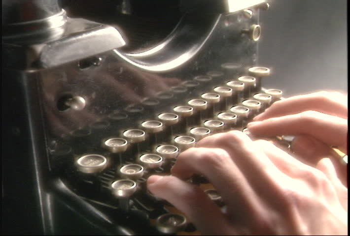 Old Typewriter. Related clips #73273, #73270, #73282, #73294