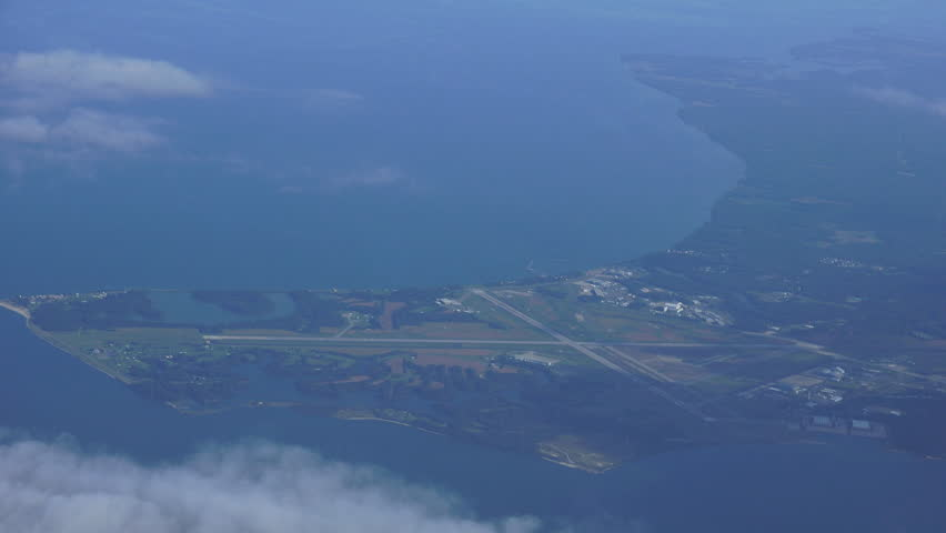 PATUXENT AIRPORT - CIRCA 2014: Patuxent Navy Air Station, airport and environment.