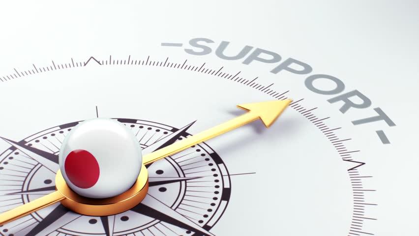 Japan High Resolution Support Concept | Shutterstock HD Video #7425094