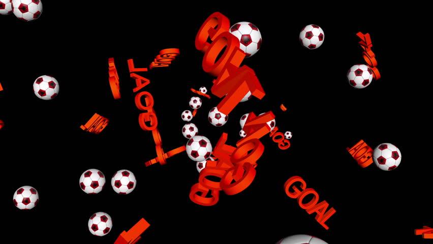 Albania celebrating GOAL on black | Shutterstock HD Video #7481974