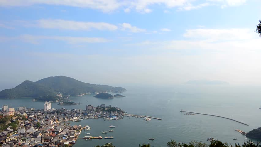Landscape of Tomonoura (in Fukuyama City, Hiroshima Prefecture, Japan)  | Shutterstock HD Video #7498534