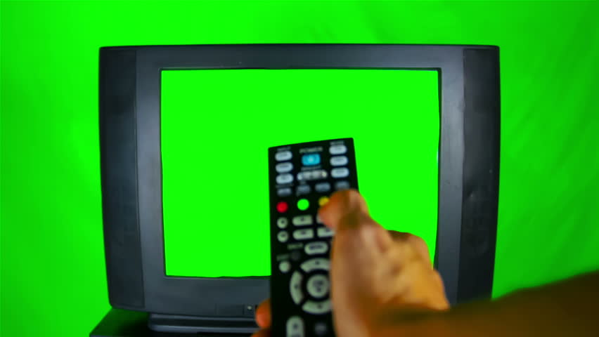Tv with Green Screen On Stock Footage Video (100% Royalty-free) 7513984 |  Shutterstock