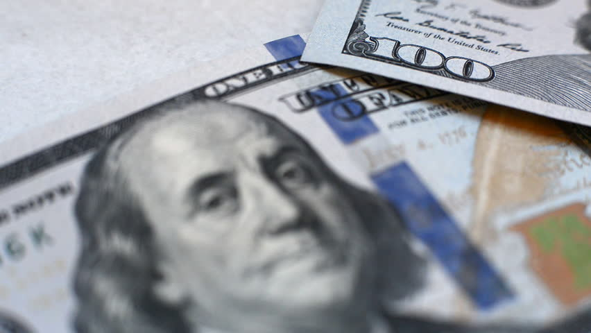 Banknote of hundred dollars   Shutterstock HD Video #7541224