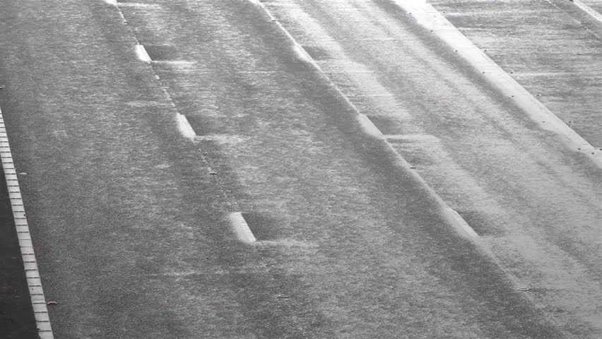 Overview of Toll Road in the Rain  Location: M6 Toll Road, Lichfield, United Kingdom  Source: Canon 5DMkiii