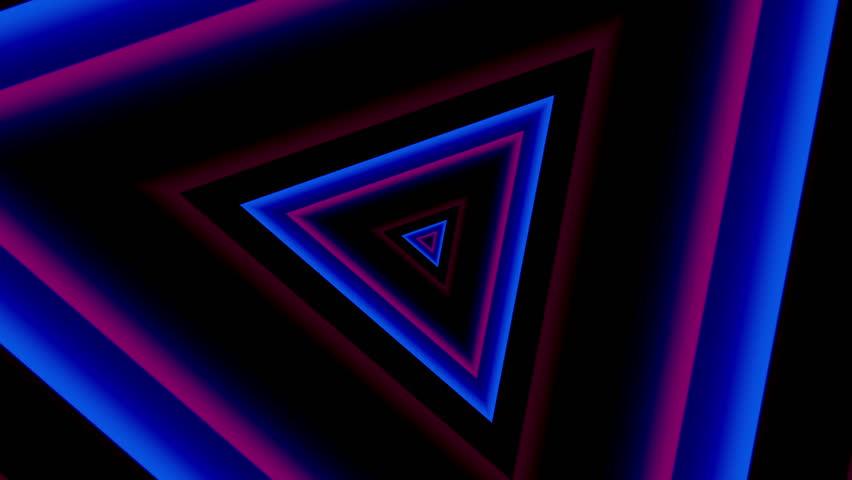 Neon Lights Vintage Tunnel Loop Stock Footage Video (100% Royalty-free)  7564054 | Shutterstock