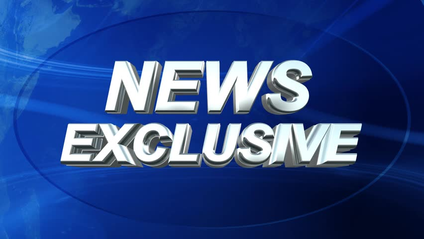 News Exclusive Logo Ident - News Style Abstract Background | Shutterstock HD Video #7613374