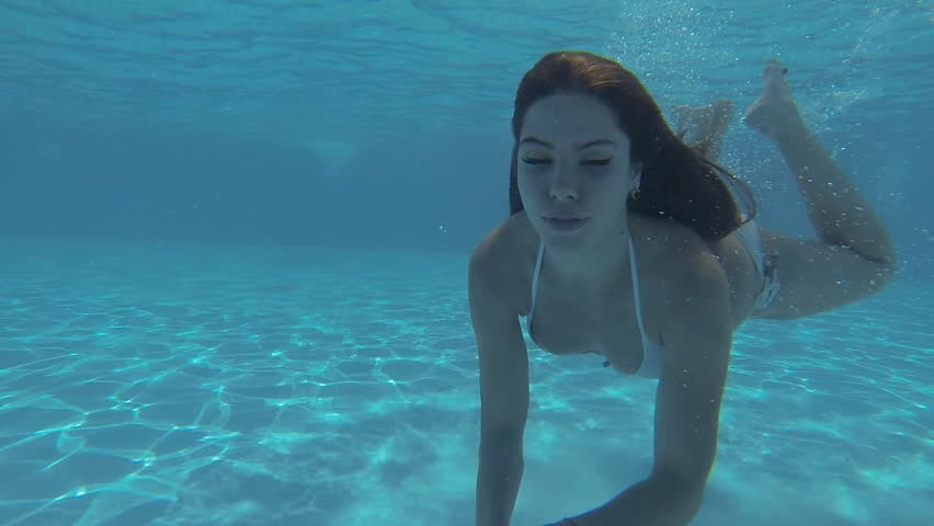 Attractive Slim Girl In A Stock Footage Video 100 -3385