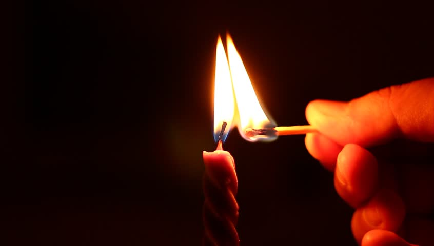 lighting candle with match - HD stock footage clip & Man Lighting A Match. Man Hand Holding And Lighting A Match. Stock ... azcodes.com