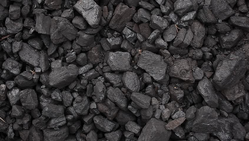 Charcoal Coal Pile Footage Stock Footage Video (100% ...