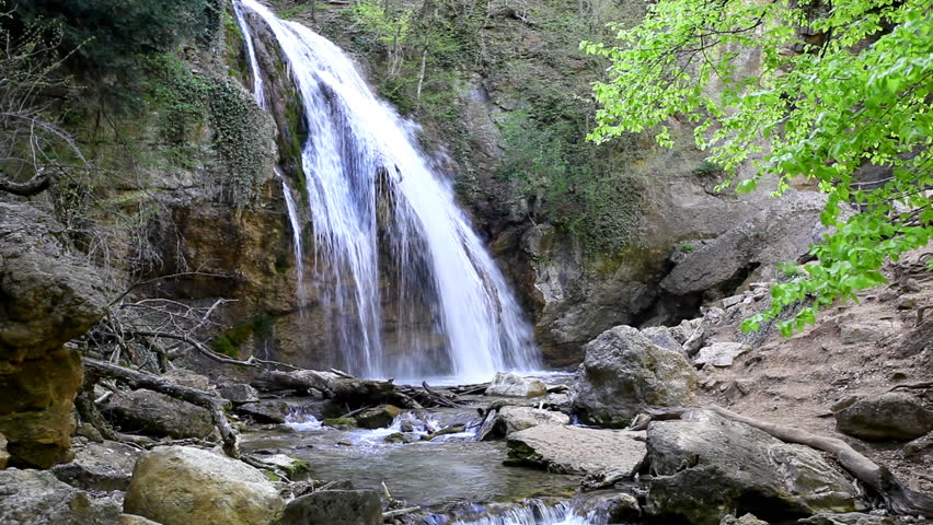 Nature Background, Waterfall Stock Footage Video (100% Royalty-free) 785014    Shutterstock