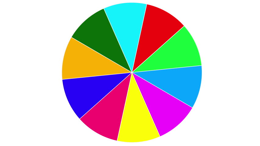 Business Pie Chart Animated Infographics Stock Footage Video 100
