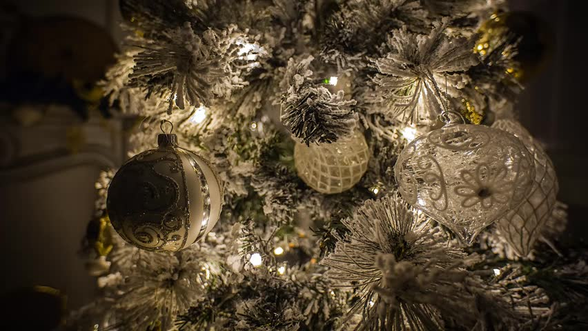 Christmas Toys and Lights,  Christmas Tree | Shutterstock HD Video #8005624