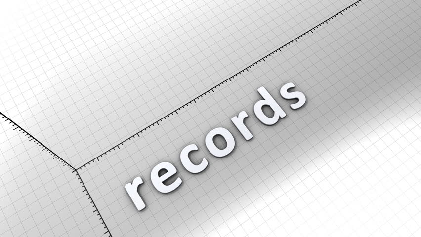 Growing chart graphic animation, Records. | Shutterstock HD Video #8110804