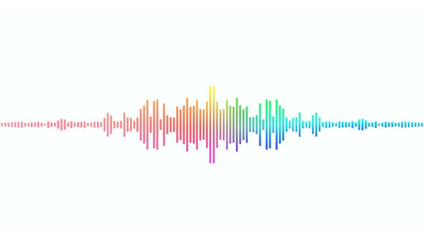 Audio Waveform Ring